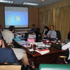 การประชุมกลุ่มวิชาการสมาคม ATPAC เพื่อหารือเรื่องการจัดตั้งสถาบัน TUSCO